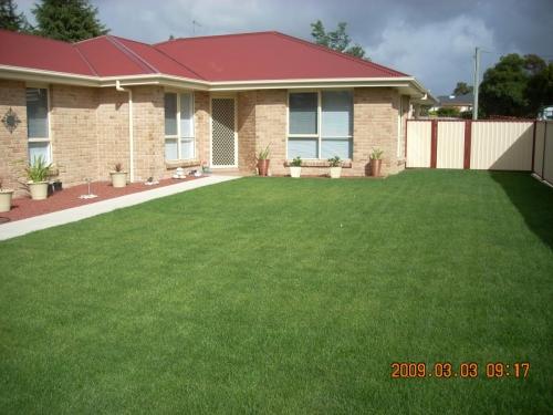Instant lawn turf install Tasmania NW