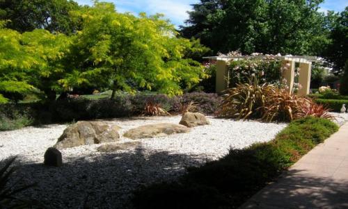bather garden art