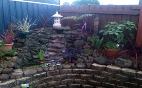 waterfall garden pond tasmania nw
